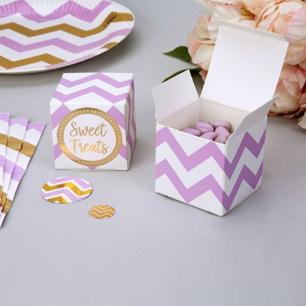 Pattern Works Lilac Favour Boxes (10)